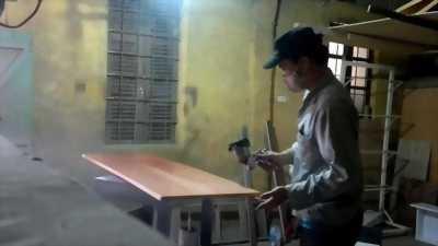 Sửa tủ bếp, sửa chữa đồ gỗ, đóng mới đồ gỗ, phun sơn PU