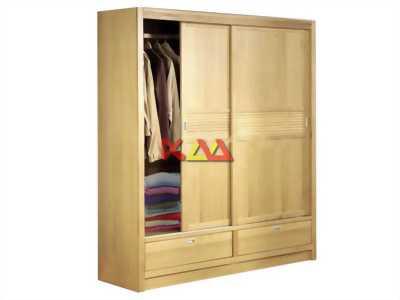 Tủ quần áo gỗ cửa lùa giá rẻ tại Tphcm