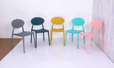 Ghế nhựa hạt kiểu dáng hiện đại nhiều màu GN-002