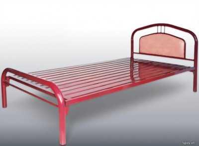 Mình cần bán giường sắt sơn tĩnh điện chống gỉ, giá rẻ