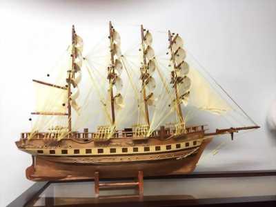 Thuyền gỗ France II tại Bình Thạnh