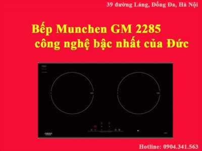 Bếp từ Munchen GM 2285 được thừa hưởng công nghệ hiện đại bậc nhất của Đức