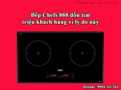 Bếp từ Chefs EH DIH888 đốn tim triệu khách hàng vì những lý do này