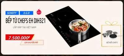 Mua bếp điện từ Chefs giá vừa tiền có không?