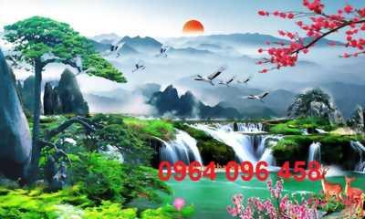 tranh gạch 3d mẫu tranh phong cảnh