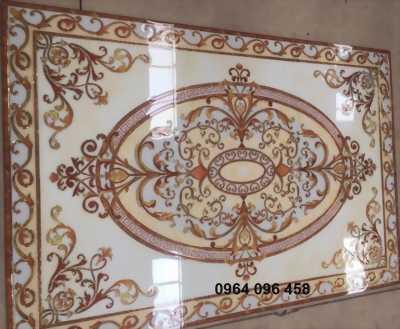 gạch thảm trang trí phòng khách sang trọng