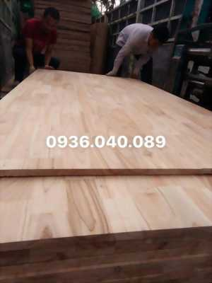 gỗ xoan ghép thanh