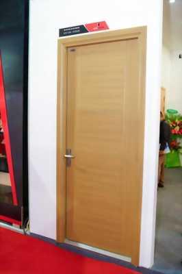 Cửa thông phòng chất liệu thép vân gỗ sang trọng 28.5
