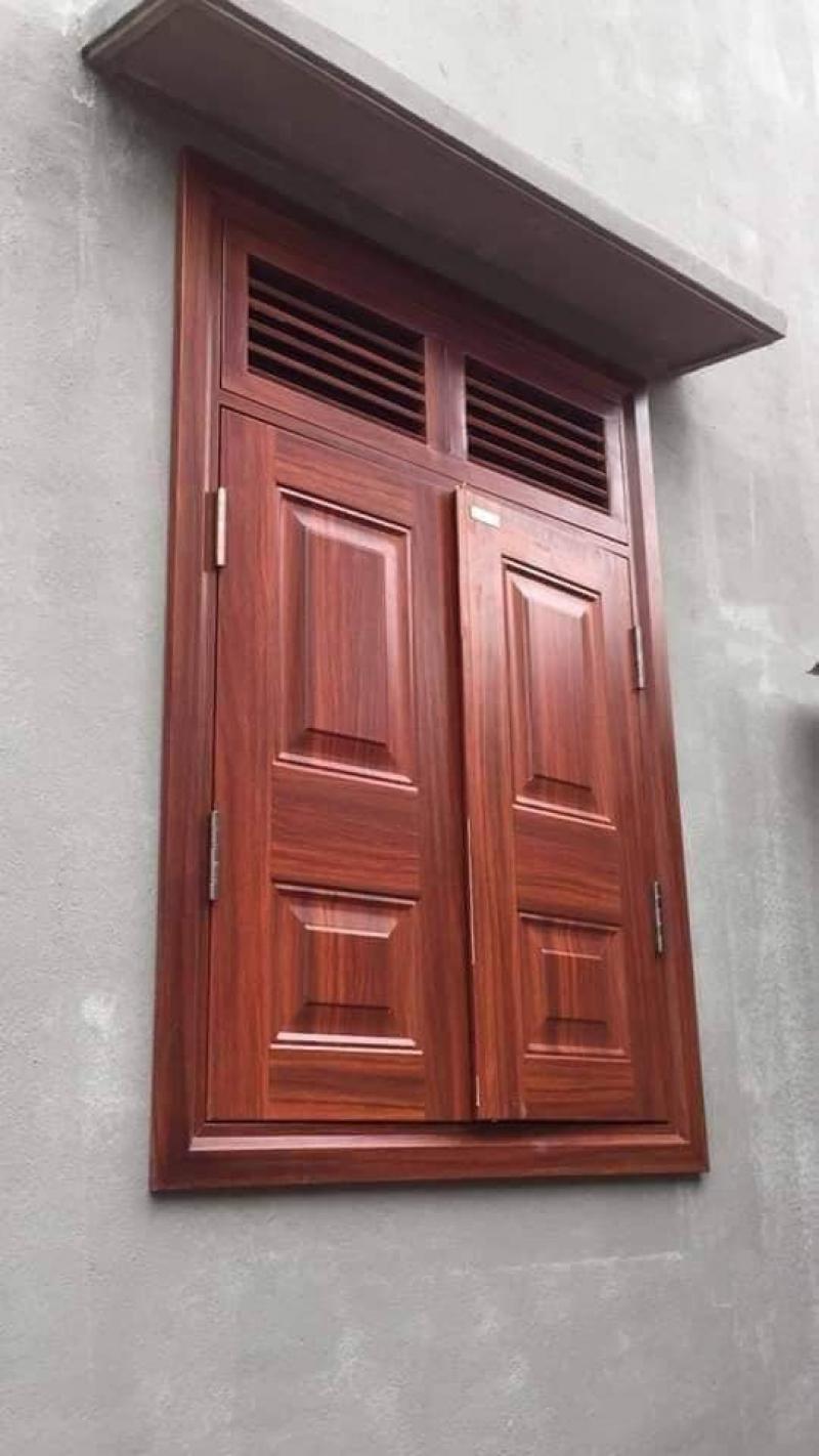 cửa thép vân gỗ tạm biệt mối mọt