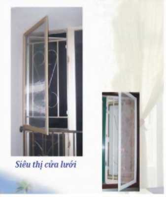 Cửa lưới chống muỗi ô cố định Hà Nội