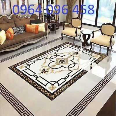gạch thảm phòng khách khổ lớn