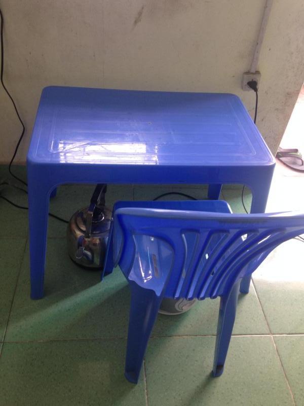 Bàn ghế đã sử dụng cho sinh viên