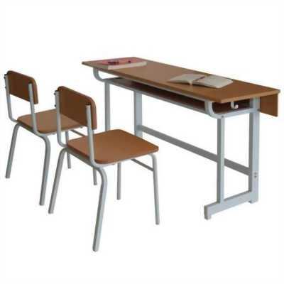 Bàn ghế học sinh mẫu dành cho trung tâm đào tạo