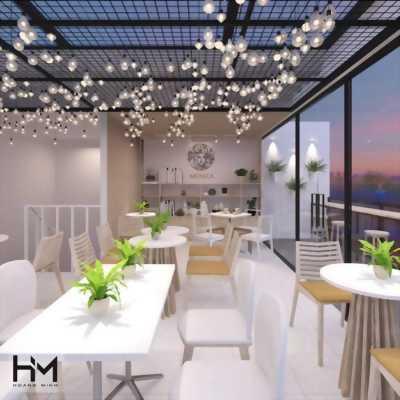 Thiết kế thi công nội thất quán cafe, trà sữa, nhà ở