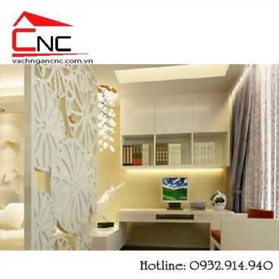 Biến phòng khách thành phòng ngủ từ vách ngăn gỗ và cnc