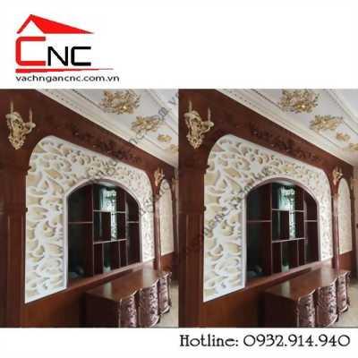 Vách ngăn cnc gỗ trang trí nội thất ở Nguyễn Văn Bứa, Hoocmon