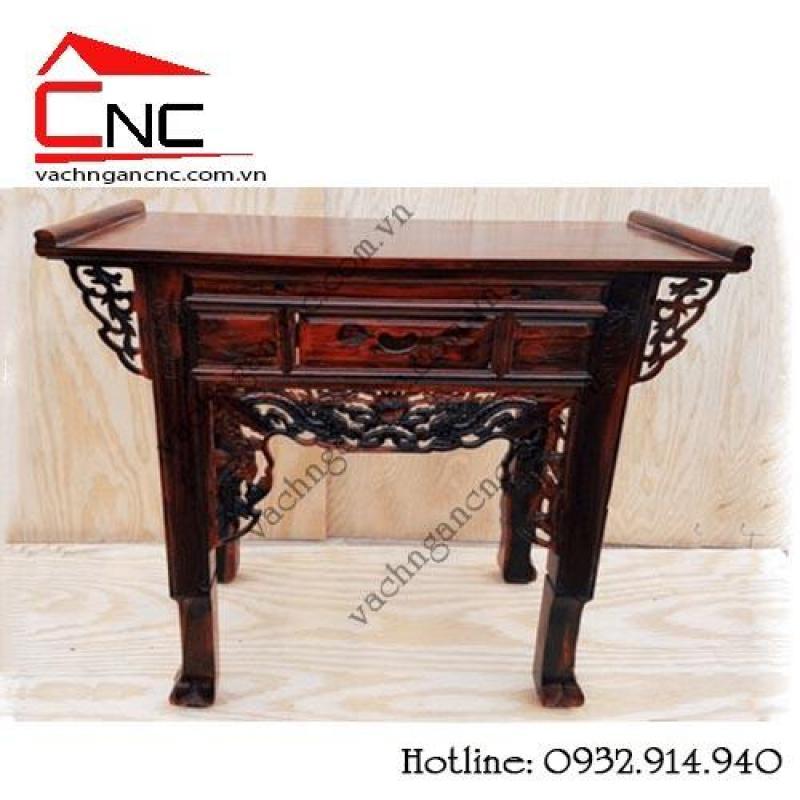 Bàn thờ gia tiên, bàn thờ gỗ muồng giá rẻ chất lương cao