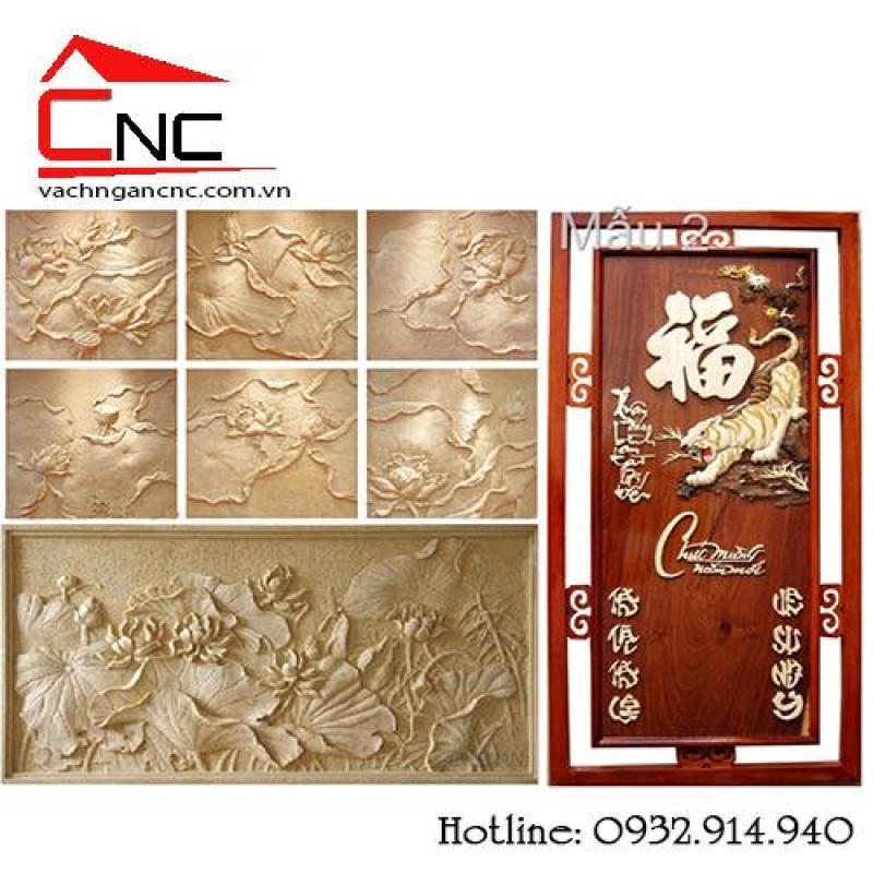 Xưởng cắt cnc gỗ đẹp, giá rẻ, vách ngăn trang trí ở Tân Bình