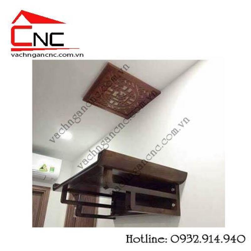 9 mẫu bàn thờ treo tường đẹp cho chung cư TPHCM