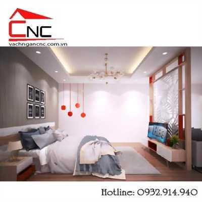 Mẫu vách ngăn đẹp cho phòng ngủ và phòng khách tại tphcm
