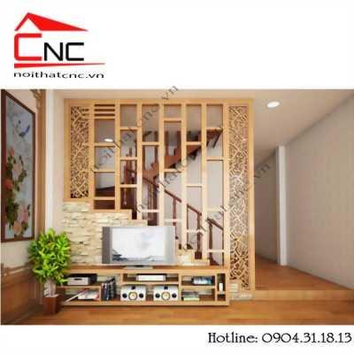 Lam gỗ trang trí đẹp cho phòng khách sang trọng
