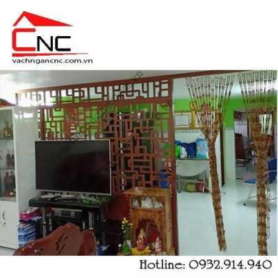 Thiết kế vách ngăn phòng khách và bếp đẹp tại Bùi Hữu Nghĩa