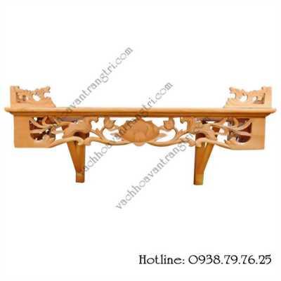 Mẫu bàn thờ treo tường đẹp không chỉ dành cho riêng chung cư
