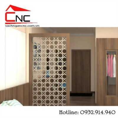 Đổi mới nội thất phòng ngủ bằng vách ngăn gỗ giá rẻ