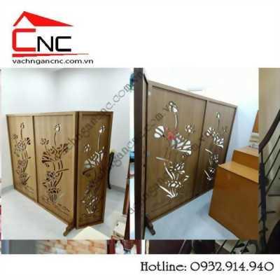 Làm tấm bình phong gỗ cnc, vách ngăn di động tại Phổ Quang quận Tân Bình
