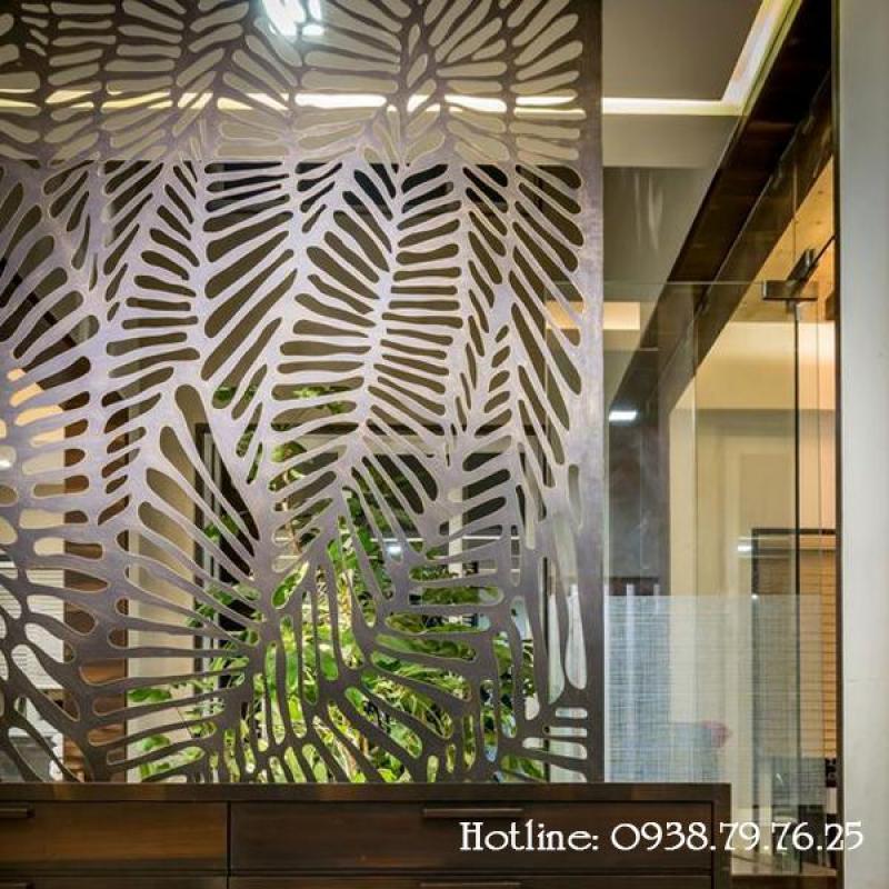 Mẫu vách ngăn trang trí nội thất bằng gỗ độc đáo