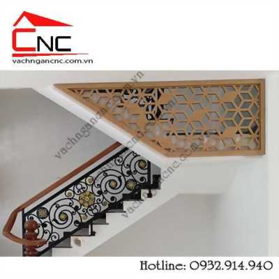 Một số thiết kế mẫu vách ngăn cầu thang đẹp