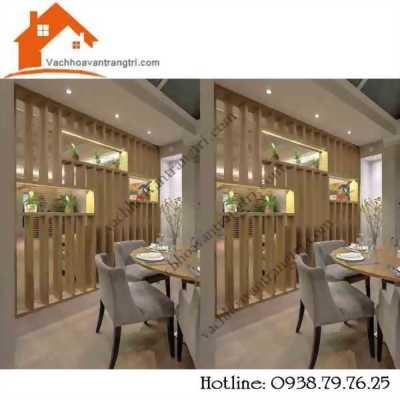 Các mẫu thanh lam gỗ trang trí phòng khách được yêu thích