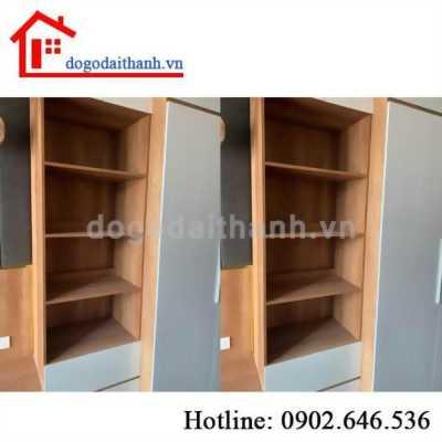 Thi công tủ quần áo hiện đại tại Chung cư Gold View quận 4