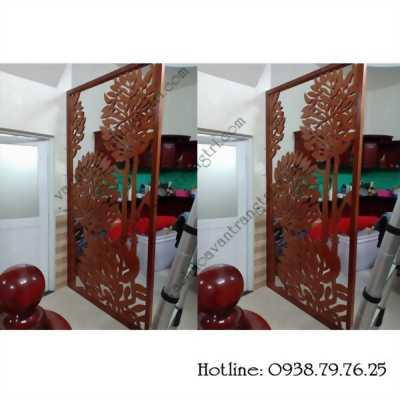 Phòng khách và bếp đẹp giá rẻ hiện đại với mẫu vách ngăn mới