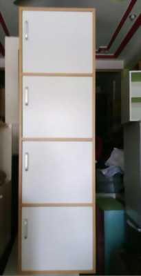 Tủ 4 hộc 4 cánh màu trắng như hình đẹp mới 100%