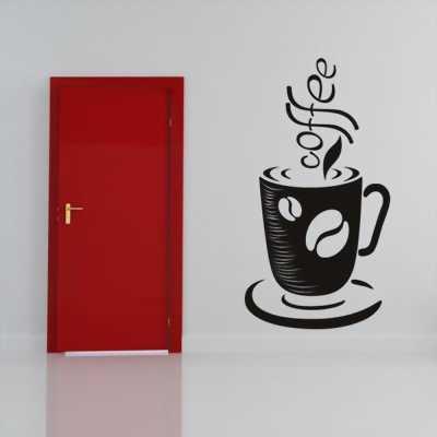 Decal dán tường Coffee 16 tại Tân Phú