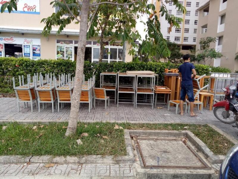 Bàn, ghế quán cafe, quán nhậu