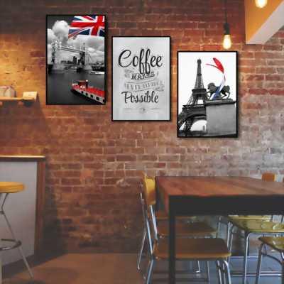 Tranh nghệ thuật trang trí quán cafe giá rẻ tại HCM