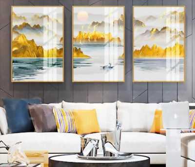Tranh trang trí phòng khách, Tranh treo văn phòng, tranh treo quán cafe hiện đại