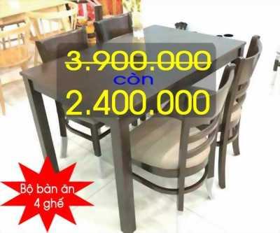 Thanh lý - Xả kho Bộ bàn ghế Mango, Bộ bàn ghế Cabin sale off giá cực khủng