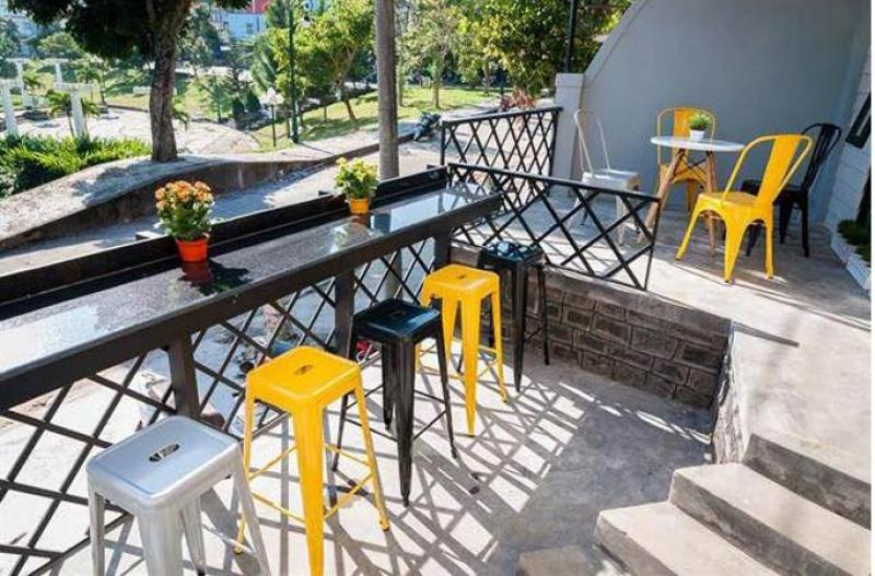 Ghế cafe tolix, Ghế bar tolix, Ghế sắt tolix sơn tĩnh điện