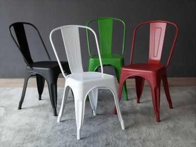 Tổng hợp những mẫu ghế sắt cafe tolix - Siêu phẩm vượt thời gian