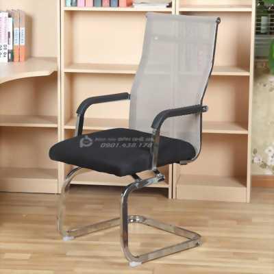 Ghế văn phòng chân quỳ chân inox cho văn phòng công ty