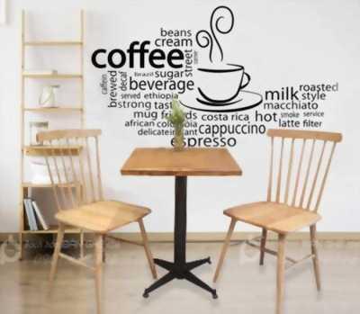 Bàn Ghế Cafe Gỗ Sắt - Bàn Ghế Gỗ Cafe - Bàn Ghế Cafe Giá Rẻ - Bộ Bàn Ghế Ăn Hot Trend