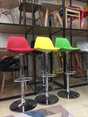 Ghế bar chân trụ xoay 360 độ - Ghế quầy bar giá rẻ Thủ Đức
