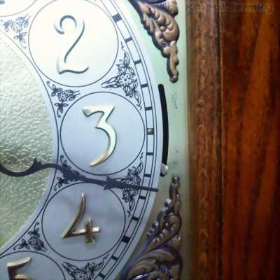 Đồng hồ tủ Ridgeway Grandfather clock Model 5211, serial 81480