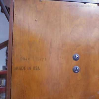 Đồng hồ tủ Sligh 0840-1-AN đẳng cấp 12 gông 12 búa