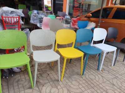 Ghế nhựa đúc nhập khẩu GLM13A - Ghế cafe nhựa đúc, ghế nhựa phòng ăn giá rẻ