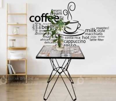 Bàn cafe gỗ sắt, bàn gỗ cafe, bàn cafe giá rẻ tại HCM