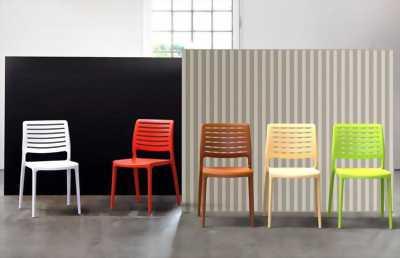 Ghế nhựa đúc cafe GDT08 - Ghế nhựa PP Line - Ghế nhựa nhà hàng sang trọng